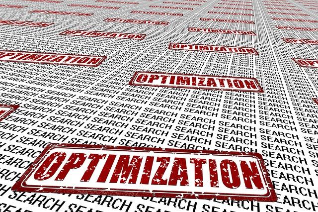 optimization, search, opakující se nápisy