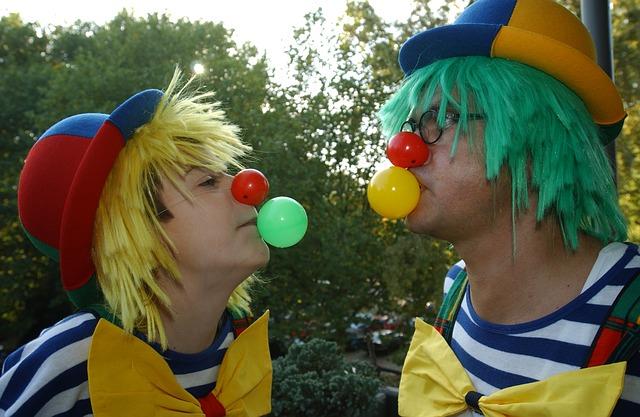 dva klauni